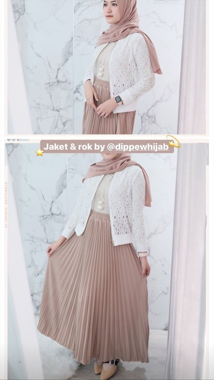 Outfit Kondangan Simple : outfit, kondangan, simple, Outfit, Kondangan, Casual, Hijab, Model, Pakaian,, Pakaian