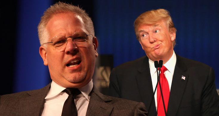 Conservative pundit Glenn Beck explodes on Donald Trump.