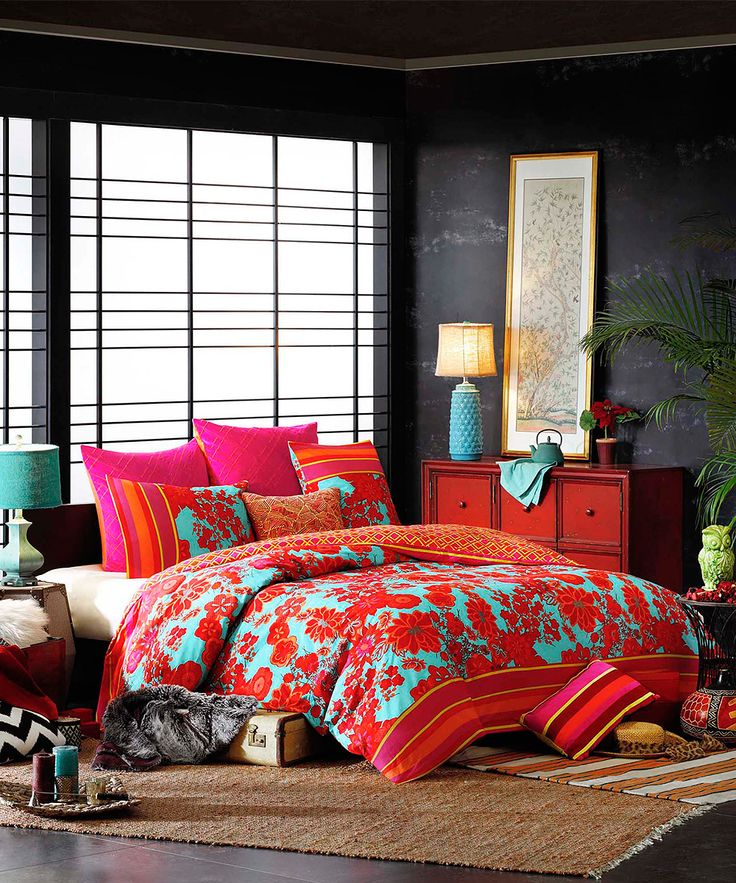 Good Buy Josie By Natori Decoiserie Comforter Set From At Bed Bath U0026 Beyond.  Bring A Bright And Bold Look To Your Bedroom With The Vibrant Josie By  Natori ...