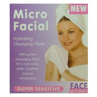 Micro Facial Cleaning Cloth $4.95