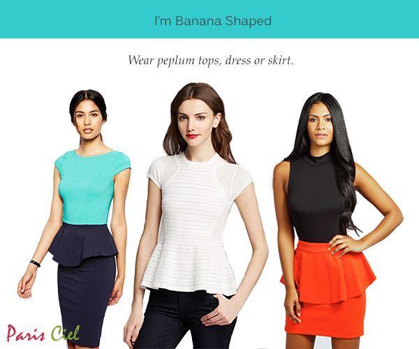 Tips Tricks To Dressing Banana Body Shape ← Paris Ciel - EN
