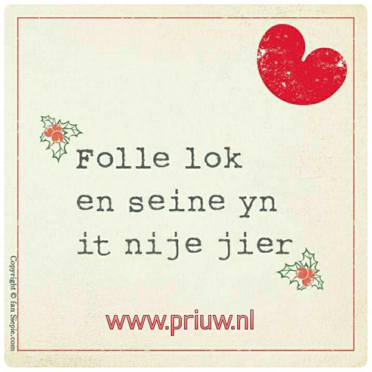Folle lok en seine tawinske! De beste wensen voor 2017.  Friese Streekwinkel Priuw  Nieuwe Oosterstraat 6 Leeuwarden