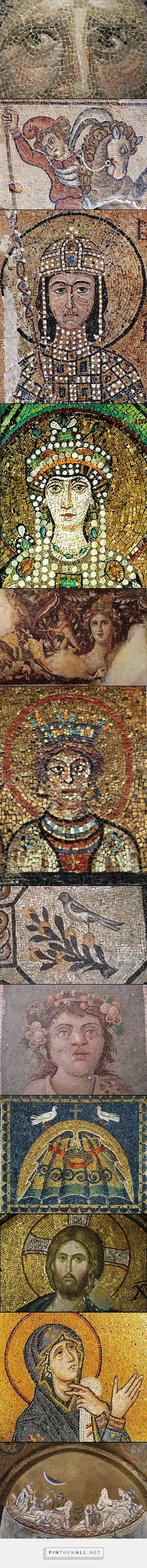 Византийская мозаика - created via http://pinthemall.net