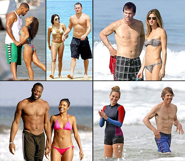 Hottest Celebrity Beach Couples