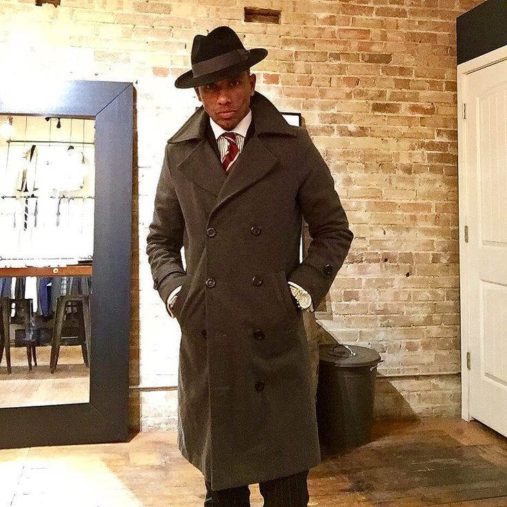 Another winter look... what do you think about the double breasted long #overcoat ?