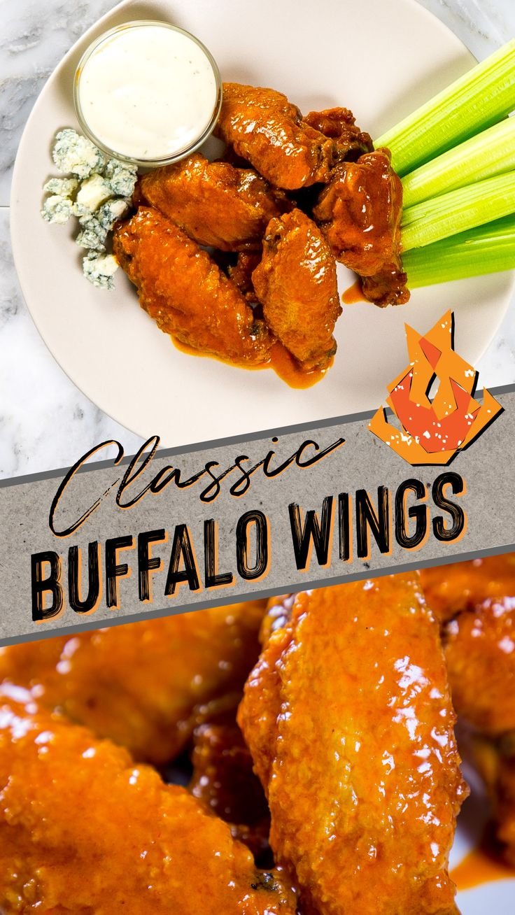 Jun 5, 2020 – Crispy, buttery, and spicy, this classic Buffalo wings recipe is sure to be a favorite with wing lovers ev…