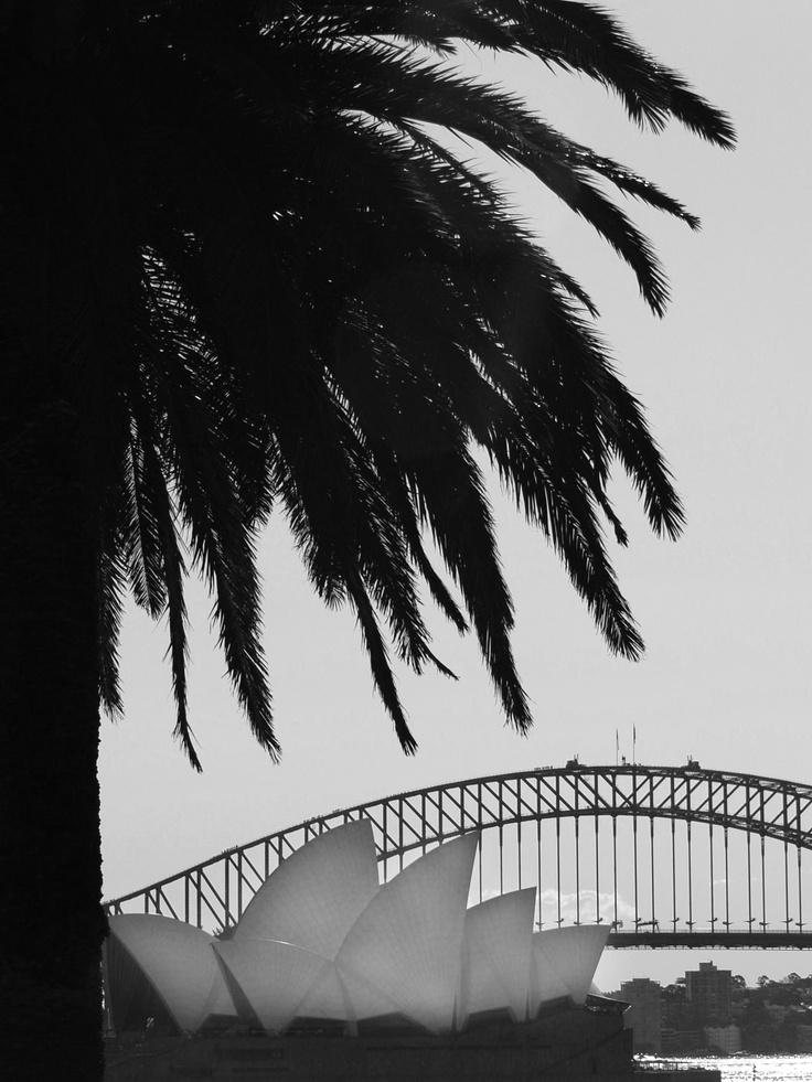 Sydney Climbers, (look closely), Harbour Bridge, Sydney, Australia 2007