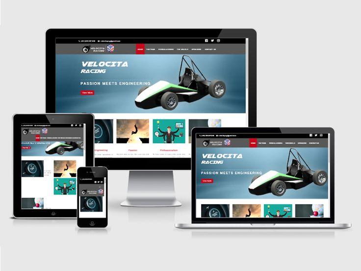 #123Coimbatore has designed a Responsive #Webdesign for Velocitaracing => http://www.webdesign.123coimbatore.com/portfolio.php