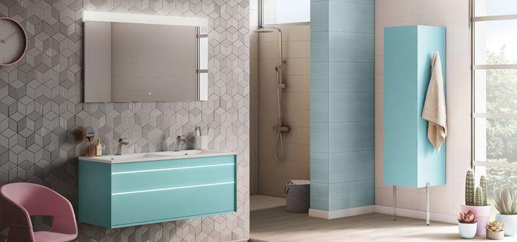 Les 59 meilleures images du tableau style salle de bain bois sur pinterest les salles de - Meuble salle de bain aquarine ...