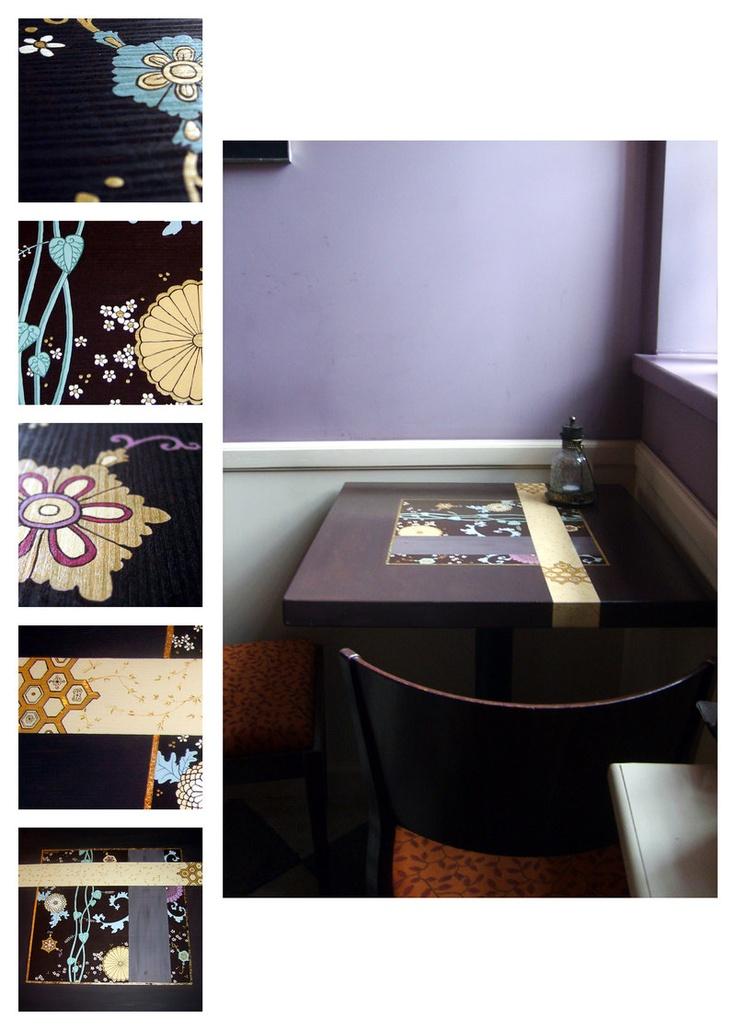 stół pomalowany dla Czekoladowni w Gdańsku. ///table 2 by karolina-g.deviantart.com on @deviantART