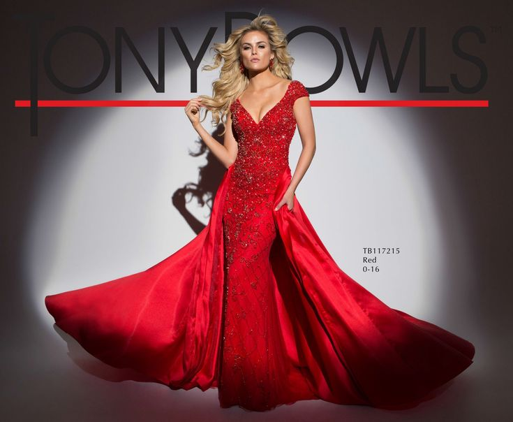 Tony Bowls Style TB117215 - View the Tony Bowls Collection now and contact a retailer near you to order the perfect designer dress for your social occasion!