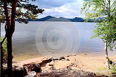 Lake Borovoe, State National Natural Park Burabai, Kazakhstan