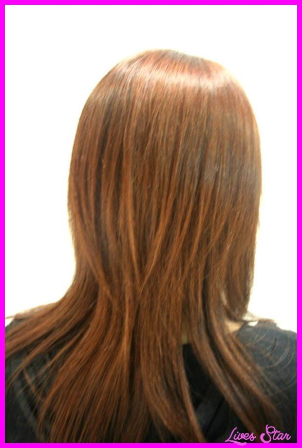 cool Long layered bob haircuts back view