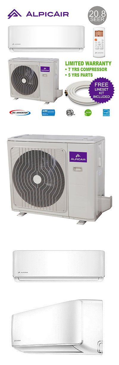 Air Conditioners 69202: Alpicair 18,000 Btu Ductless Mini-Split Air Conditioner Heat Pump System -> BUY IT NOW ONLY: $990 on eBay!