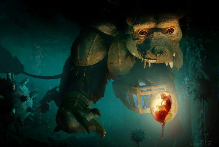 #concept #cave #monster #alien #fantasy