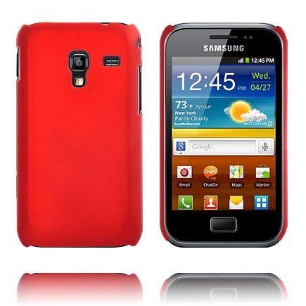 Hard Shell (Rød) Samsung Galaxy Ace Plus Cover