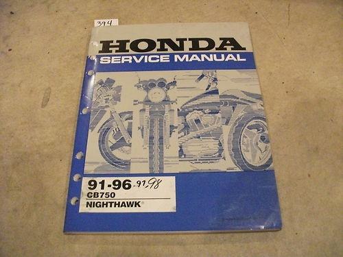82 honda cb750 service manual