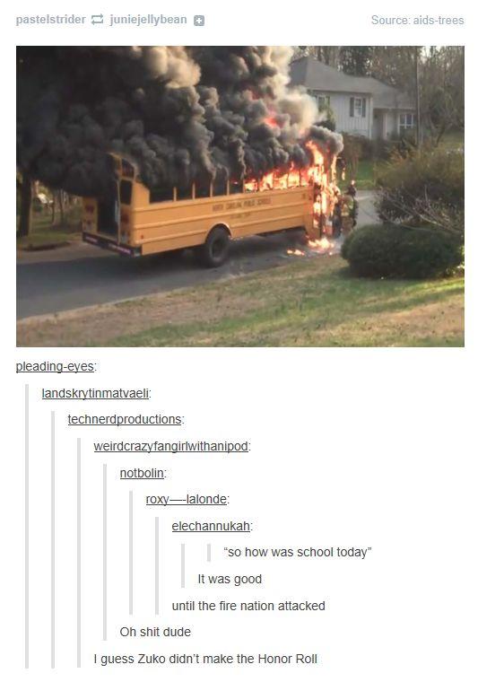 Dammit,Fire Nation! >