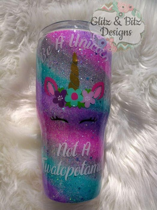 Excited to share the latest addition to my #etsy shop: Swirl Unicorn Glitter Tumbler- Glitter Ombre - Gift for Teen- Bridal Party Gift - Gift for Her - Teenager - Birthday-Present-Mothers Day- http://etsy.me/2GEa2kc #housewares #metal #glittertumbler #glitter #tumbler