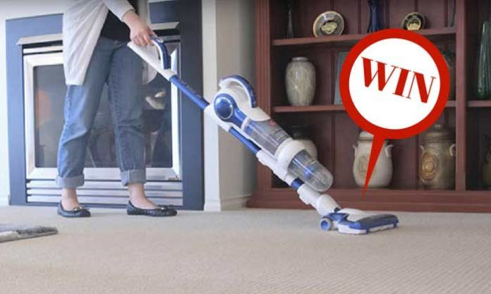 Win a Hoover Air Stick Pro Cordless Vacuum valued at $599  https://wn.nr/fjQckG
