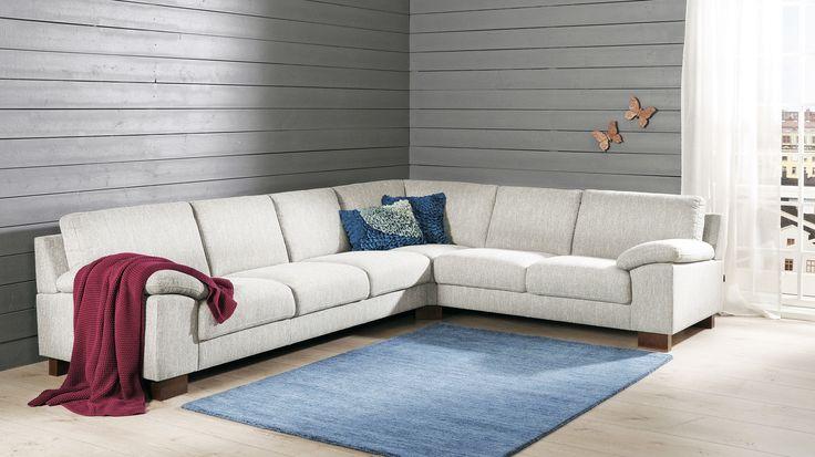 Malli: Poet Vaihtoehdot: 2- ja 3-istuttava sohva, modulisohva, tuoli, rahi Jälleenmyyjä: Sotka-myymälät  #pohjanmaan #pohjanmaankaluste #käsintehty