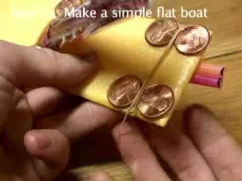 Part 24 Build a Putt PuttPop Pop Steam Boat s21make flat boat - YouTube