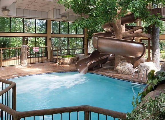 There Are Lots Of Gatlinburg Hotels With Indoor Pools To Choose From So We Put Together Thi Indoor Swimming Pool Design Small Indoor Pool Indoor Swimming Pools