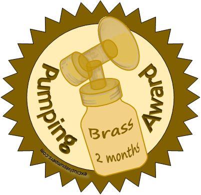 Brass Pumping Award (2 Months)