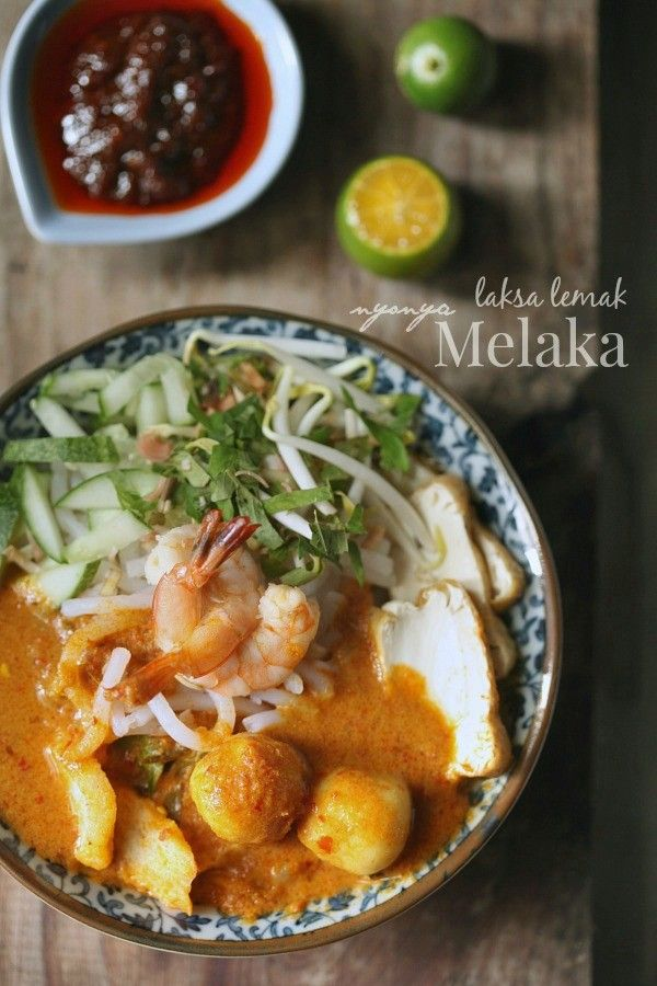 Pin By Laila Saleh On Malaysian S Food Laksa Malaysian Food Asian Recipes