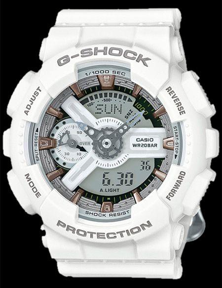 CASIO G-SHOCK TOTAL WHITE Aprovechando estos calurosos días de Primavera y con un ojo puesto ya en el verano, te mostramos uno de los nuevos relojes de Casio G-Shock, un modelo totalmente en blanco de caballero resistente al agua 200 metros, un reloj que destacará con tu bronceado y que es ideal para los baños más refrescantes: http://www.todo-relojes.com/detalle.asp?codigo=29892 #relojesCasio #GShock #resistentealagua #relojesblancos #relojesdeportivos