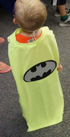 Superhero Batman Cape, Sunflower Storytime
