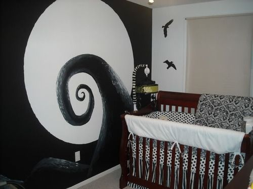 Tim Burton Inspired Bed Room Set