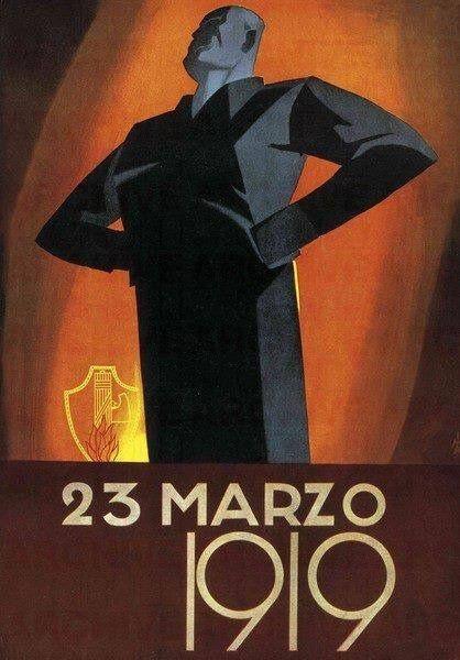 Italian propaganda poster