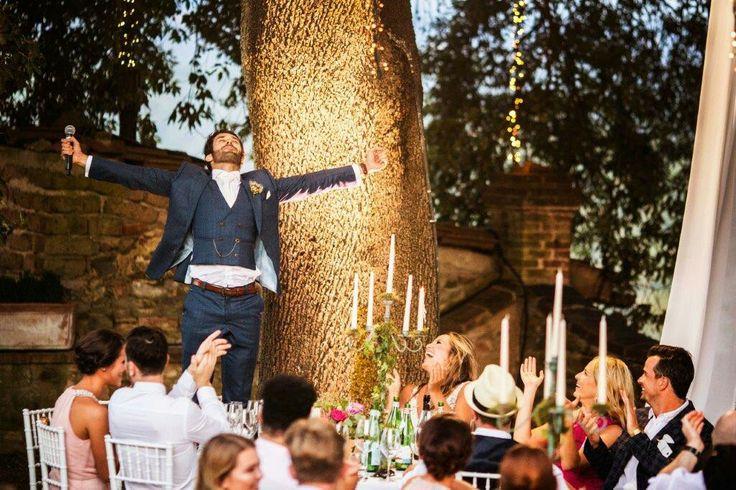 Such a fun groom's speech. #Wedding dinner fun #fabiomirulla photo