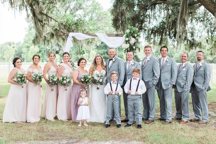 Romantic Summer Wedding at Plantation Oaks Farms in