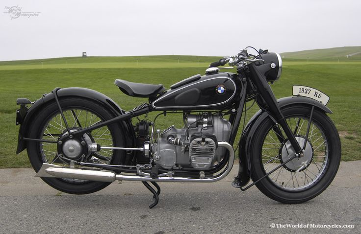 1937 BMW R6 Twin 596cc Motorcycle