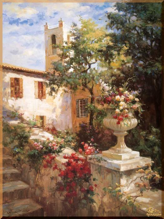 Mediterranean - 117 Средиземноморье, картины, подарки