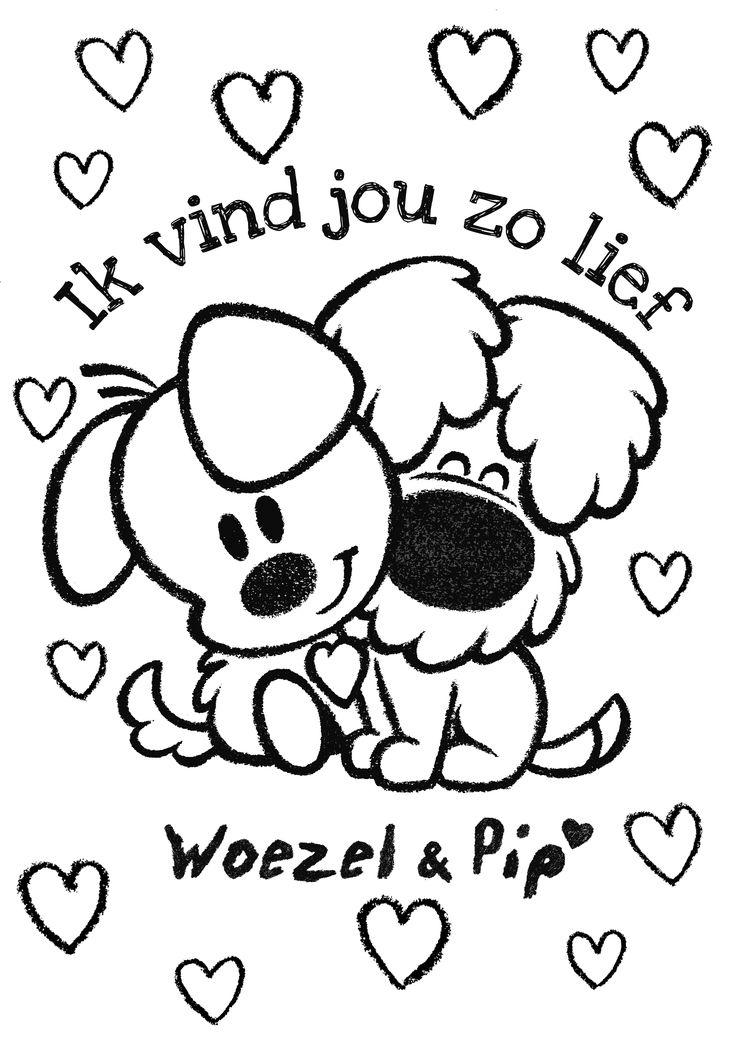 Valentijnsdag met Woezel & Pip!