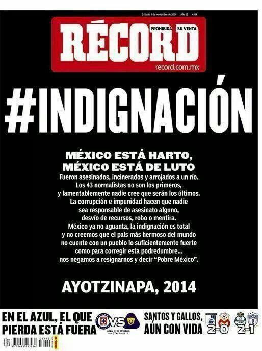 Ayotzinapa #Ayotzinapa #YaMeCanse Apoya: http://es.ulule.com/fight-back-mexico/