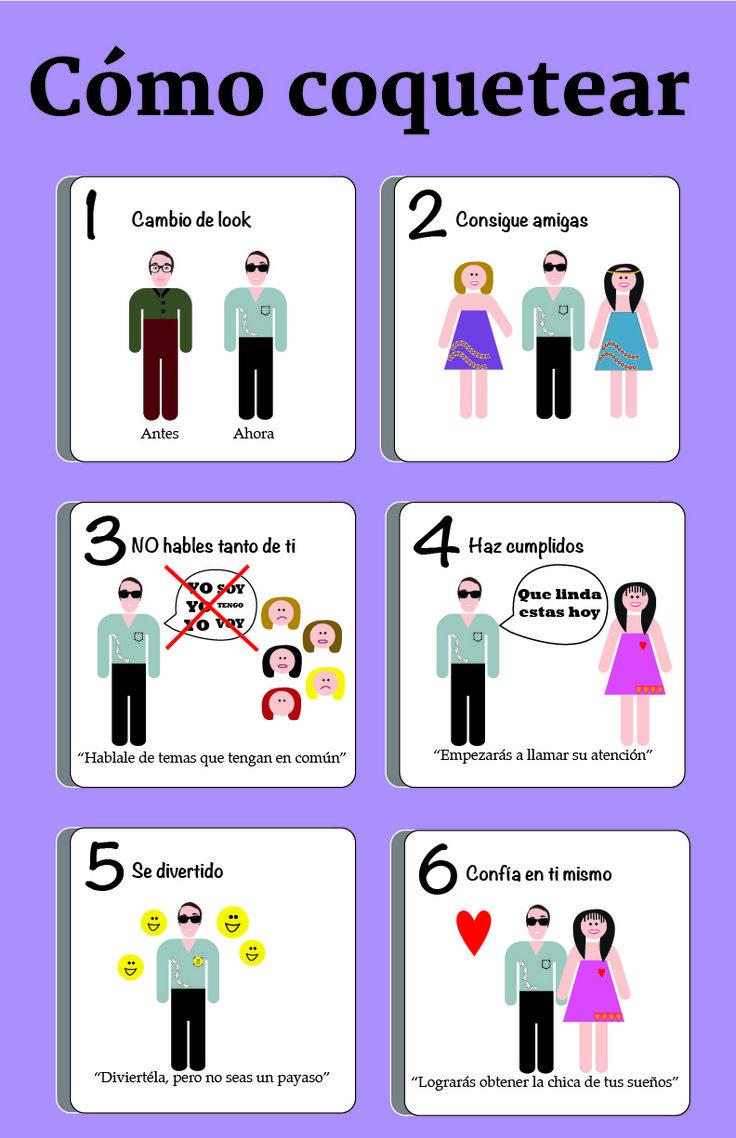 cómo coquetear- Cindy Lorena Pacheco