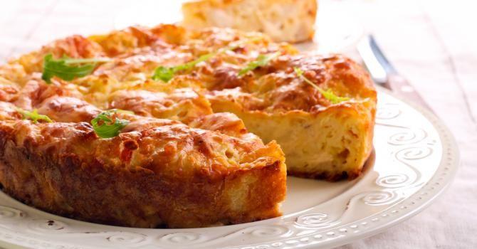 Recette de Quiche sans pâte Croq'Kilos au poulet et chou-fleur. Facile et rapide à réaliser, goûteuse et diététique.