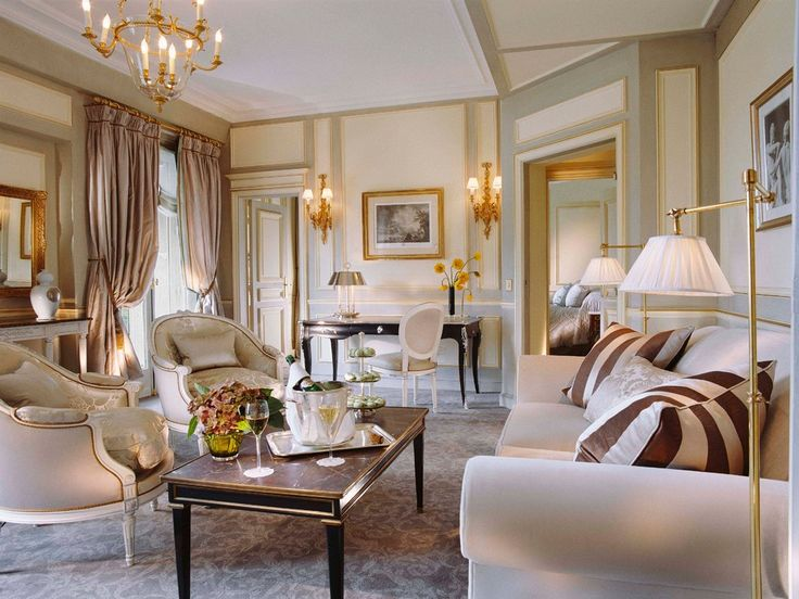 Le Meurice, Paris: France Hotels : Condé Nast Traveler Rooms At The Le  Maurice · French Country Living RoomFrench ...