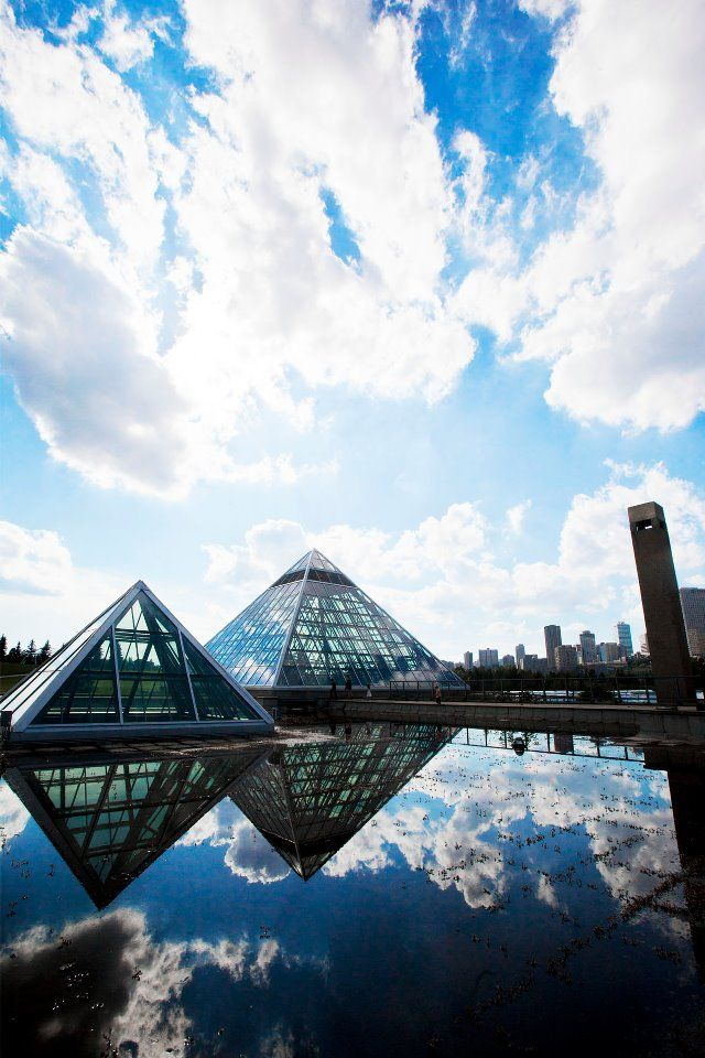 Muttart Conservatory :: City of Edmonton by Ramsey Kunkel.  www.RadiantFitAndHappy.com