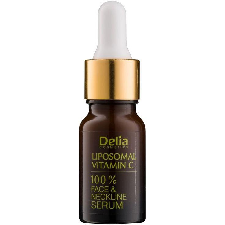 Delia Cosmetics Professional Face Care Vitamin C rozjasňujúce sérum s vitamínom C na tvár, krk a dekolt  10 ml