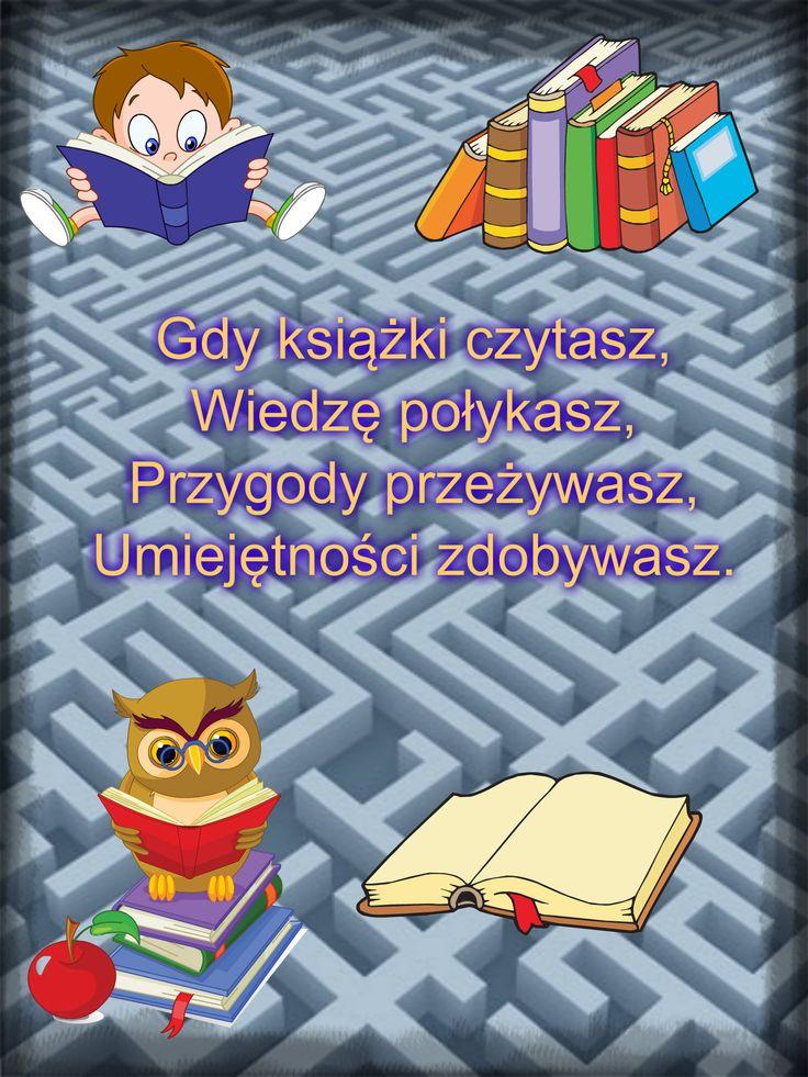 """Jestem miłośnikiem czytania. Szkoda tylko, że nie  zawsze mam na to czas. Ostatnio przeczytałem lekturę Henryka Sienkiewicza pt. """"W pustyni i w puszczy"""". Bardzo mi się podobała.  Poniżej jest plakat, który przygotowałem na  Akcję Czytamy II: Plakatowy szał!"""