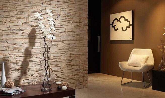 Plaquetas decorativas para las paredes decorando la casa - Paredes de piedra interiores ...