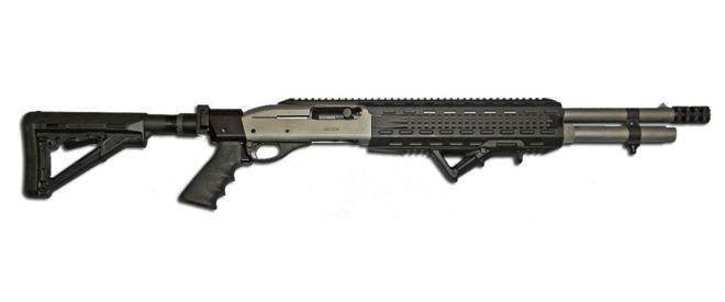 Remington 1100 / 11-87 Espingarda conversão tática chamada Devastator - O blog de arma de fogo Blog de arma de fogo