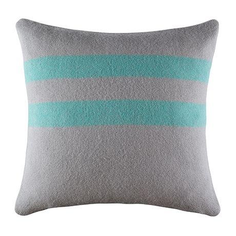 Sleepy Cushion 50x50cm For Real Living  Green Stripe