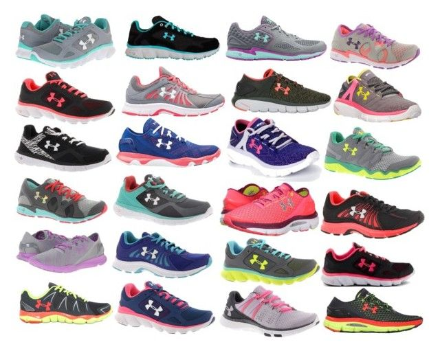 """""""Under Armor Shoes"""" by loosyloo on Polyvore featuring Under Armour"""