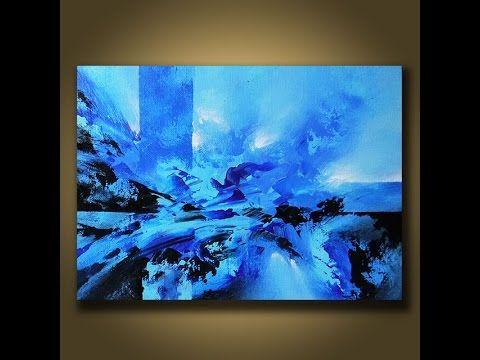Abstract Painting DEMO 3 – Acrylic Painting Speedpainting – Demonstrati …